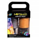 4*120ml Metallic Acrylic Paint