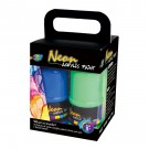 4*120ml Neon Acrylic Paint