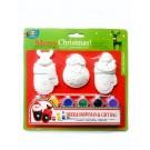 Xmas Painting Set - Santa&Deer&Gift Bag