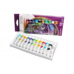 12 x 12ml Acrylic Paint Set for Students