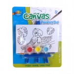 Mini Canvas Painting Set - Parrot