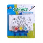 Mini Canvas Painting Set - Turtle