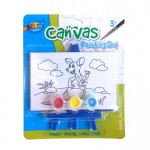 Mini Canvas Painting Set - Kangaroo