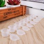 Mini Empty Plastic Paint Pot Strip 8*3ml