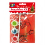 Santa Suncatcher Painting Kit