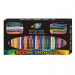 30 Color Glitter Glue Pens