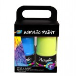 4*120ml Acrylic Paint