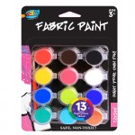 12*5ml Fabric Paint