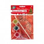 Snow Man Suncatcher Painting Kit