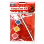 Xmas Tree Suncatcher Painting Kit