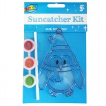 Penguin Suncatcher Painting Kit