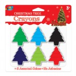 Christmas Tree Crayons