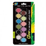 12*4ml Glow in the Dark Acrylic Paint