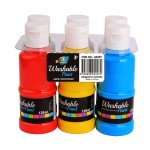 6*120ml Washable Paint