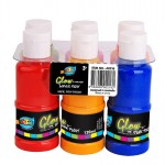 6*120ml Glow in the Dark Acrylic Paint