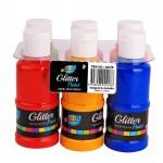 6*120ml Glitter Paint