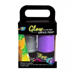 4*120ml Glow in the Dark Acrylic Paint