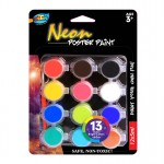 12*5ml Neon Poster Paint
