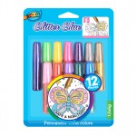 Glitter Glue Pen 12*6ml