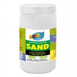 Art Sand Bottle - White