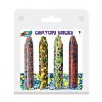 4 Jumbo Rich Color Crayons