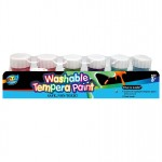 6*20ml Washable Tempera Paint with Base