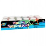 12*20ml Washable Tempera Paint with Base