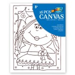 Canvas Painting Set - Girl