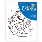 Canvas Painting Set - Bear