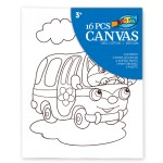 Canvas Painting Set - Bus