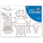 Canvas Painting Set - Robot