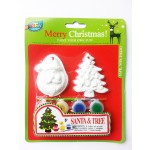 Xmas Painting Set - Santa&Tree