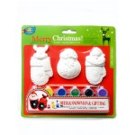 Xmas Painting Set - Santa&Deer&Gift Bag