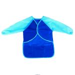 Long Sleeve Kids  Apron Blue