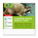 Learner Canvas 10x10cm Single Thick