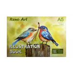 Illustration book, A5 Size