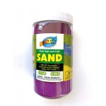Art Sand Bottle - Purplish Red