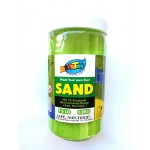 Art Sand Bottle - Yellow Green